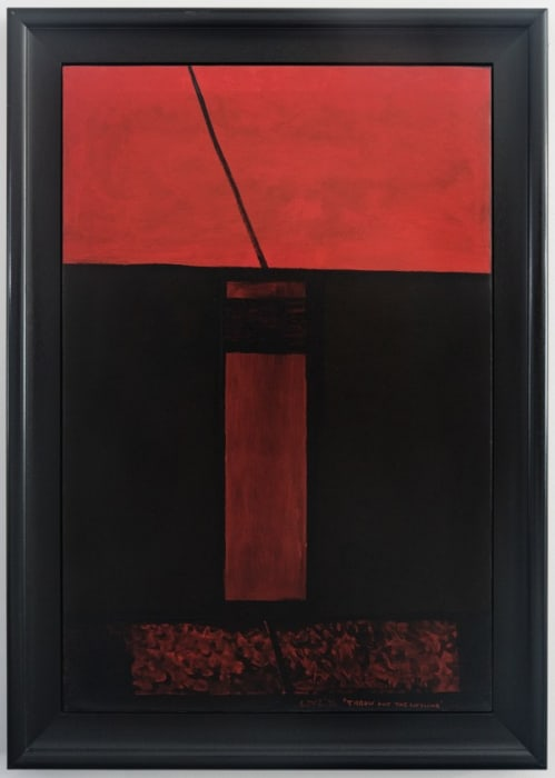 Throw out the lifeline by Colin McCahon