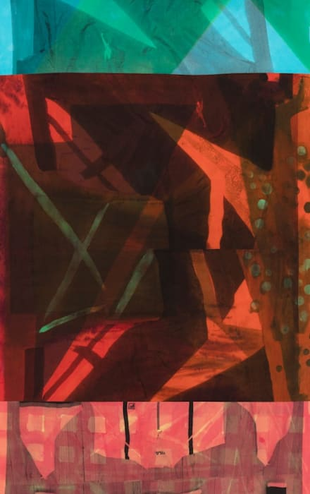 untitled_track_resist_x_folds by Cheryl Donegan