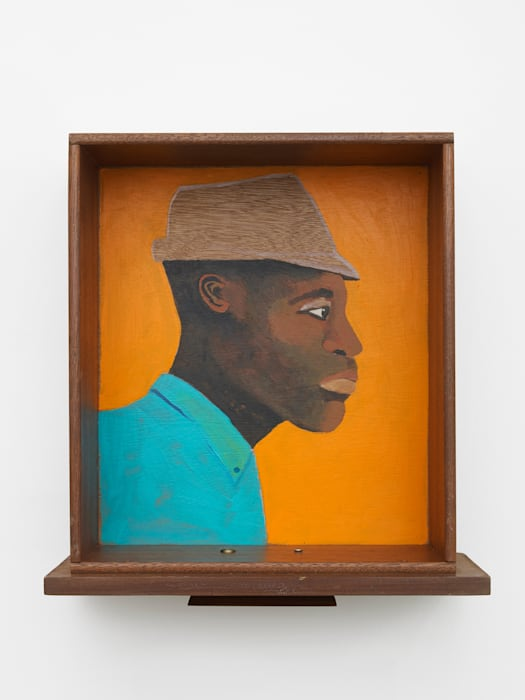 Man in a Really Useful Drawer by Lubaina Himid