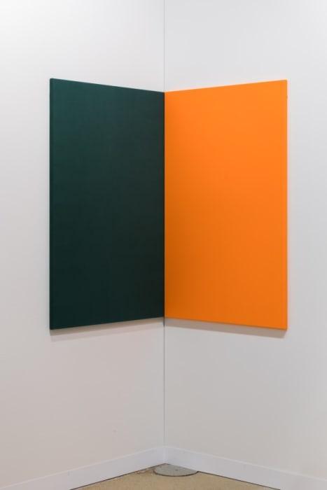 Fabric Painting (Corner) by Andrea Büttner