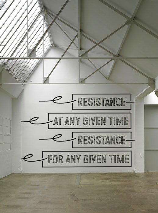 #888 by Lawrence Weiner