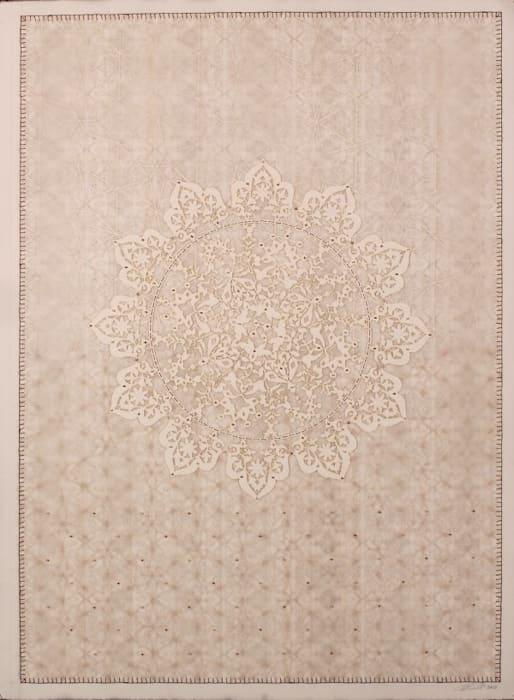 Antique Lace - 1 by Anila Quayyum Agha