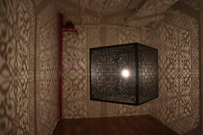 Shimmering Mirage by Anila Quayyum Agha