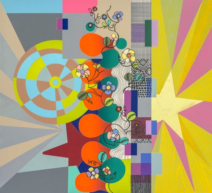Flower Swing by Beatriz Milhazes