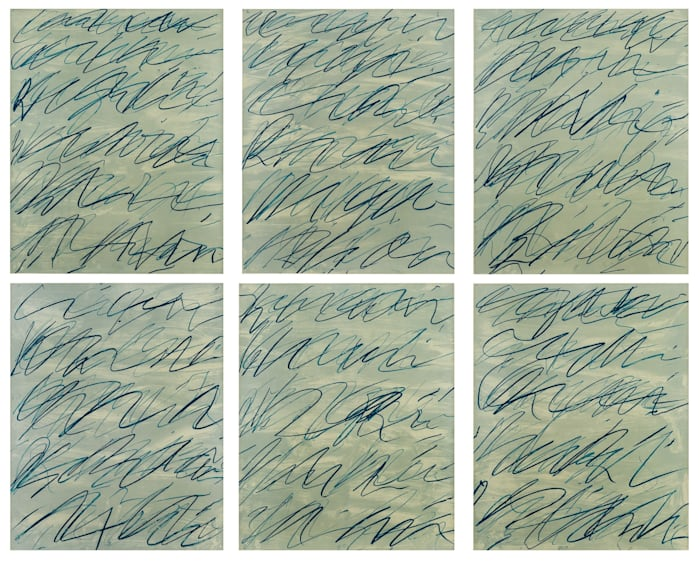 Roman Notes 1 - 6 by Cy Twombly