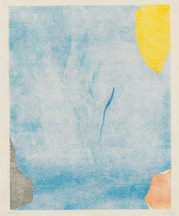 Trial Premonition I/III by Helen Frankenthaler