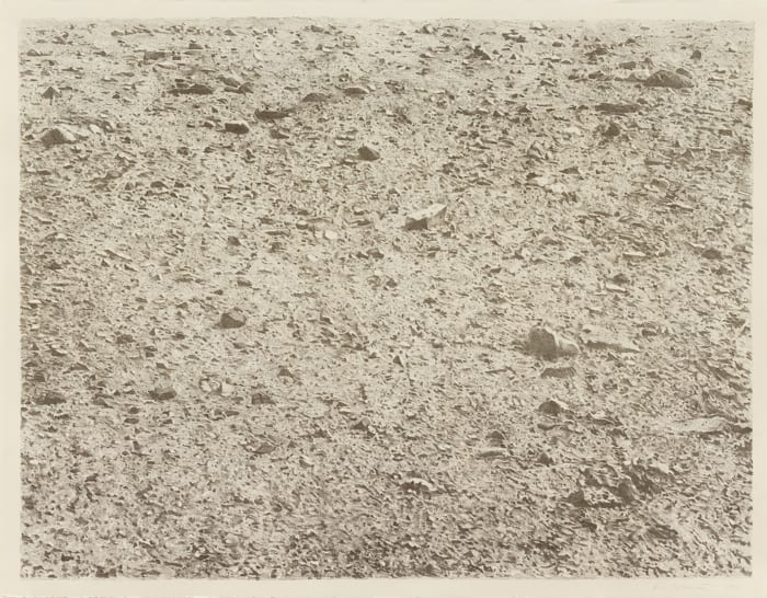 Untitled (Large Desert) by Vija Celmins