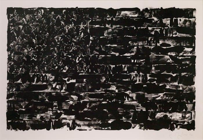 Flag I by Jasper Johns