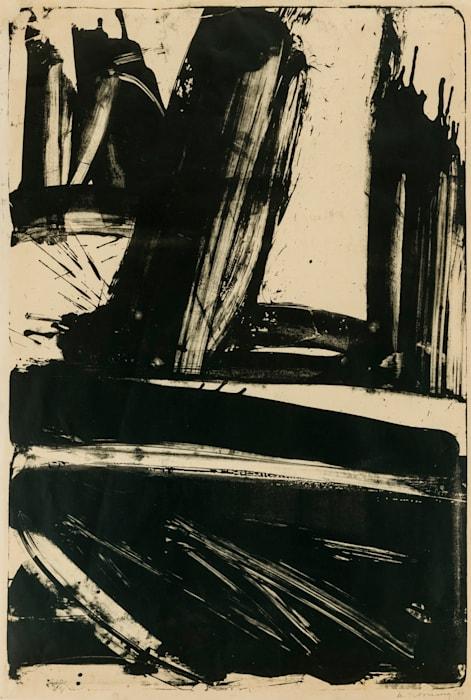 Litho #1 (Waves #1) by Willem de Kooning