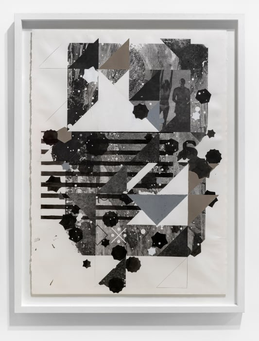 Untitled (Positions contingent on forms; Setter) by Adler Guerrier