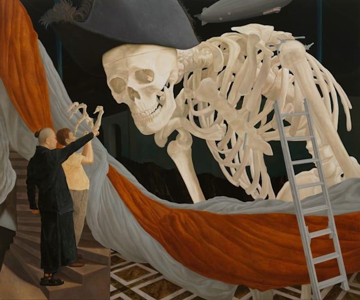 History of the White Skeleton Monster by Natee Utarit