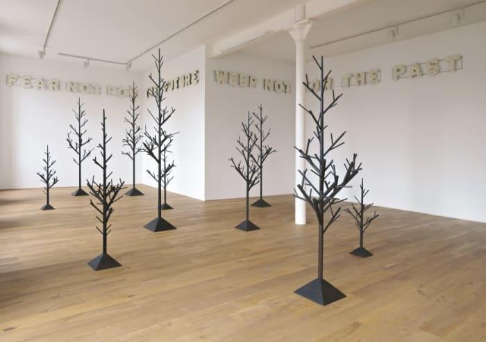 nineteen trees by Peter Liversidge