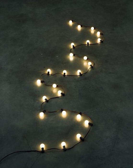 """Untitled"" (Last Light) by Felix Gonzalez-Torres"