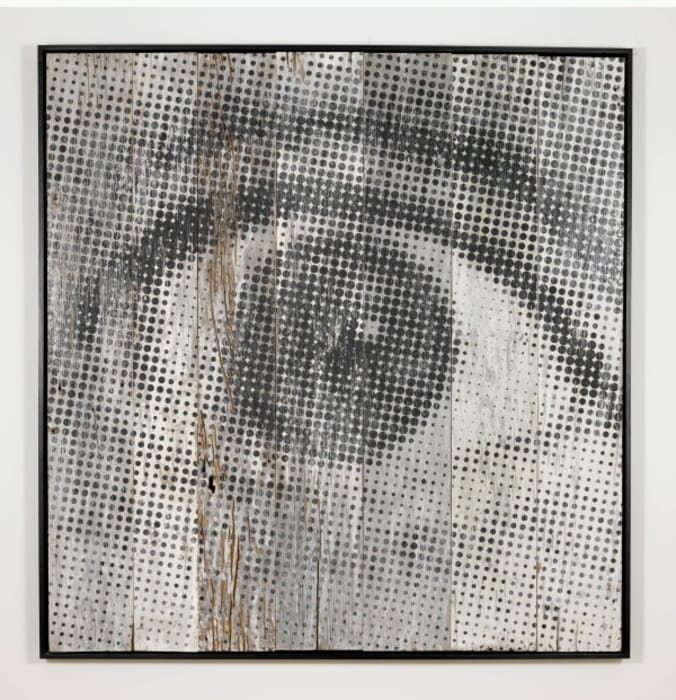 Inside Out Project - Oeil Trame #7 by JR