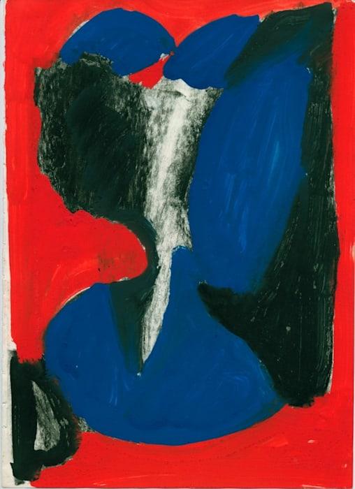 Falsche Form II by A.R. Penck