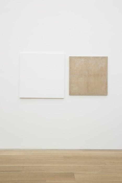 """dé-finition/méthode """"repeint (""""arme chimique 3"""" 1968) / dépeint (""""mise à prix"""" 1969)"""" by Claude Rutault"""
