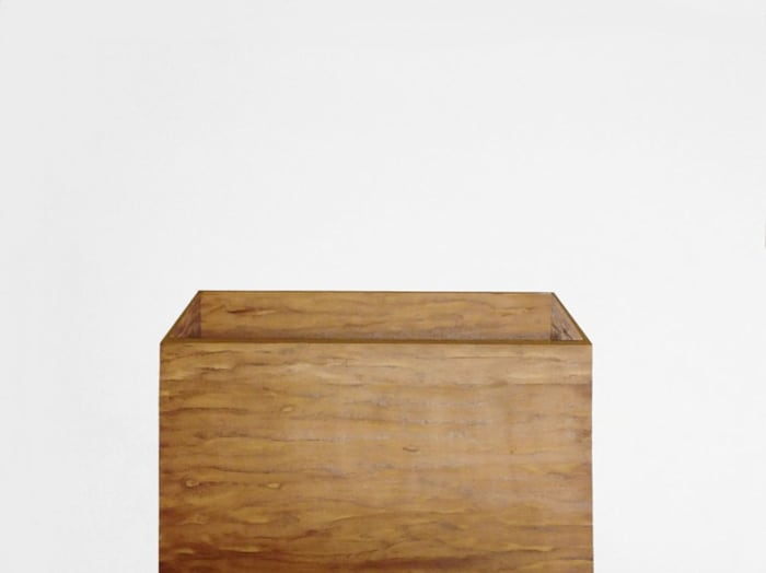 Untitled (wooden box) by Valdirlei Dias Nunes