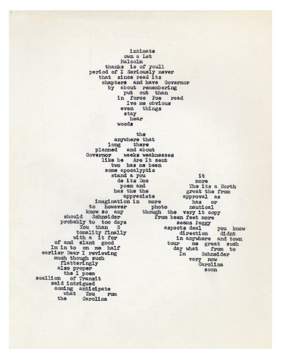 intimate by Carl Andre