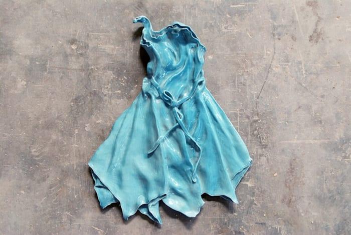Blue Dress (No. 6) by Ai Weiwei