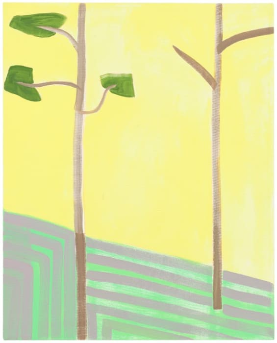 Two Trees, Three Leaves by Benjamin Butler