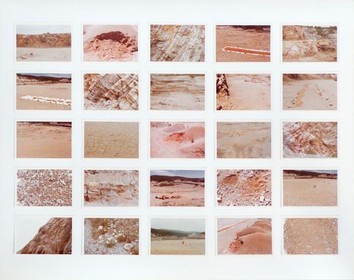 Color / Time / Landform / Transformations II by Michelle Stuart