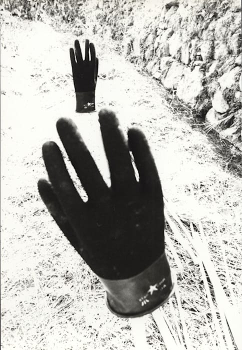Untitled (Two Gloves) by Kozo Haramoto