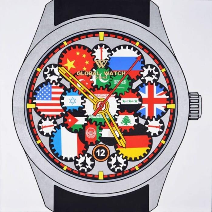 W Global Watch D12-03 by Wang Luyan