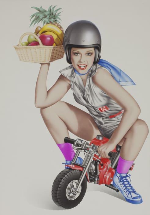 Bike by Harumi Yamaguchi