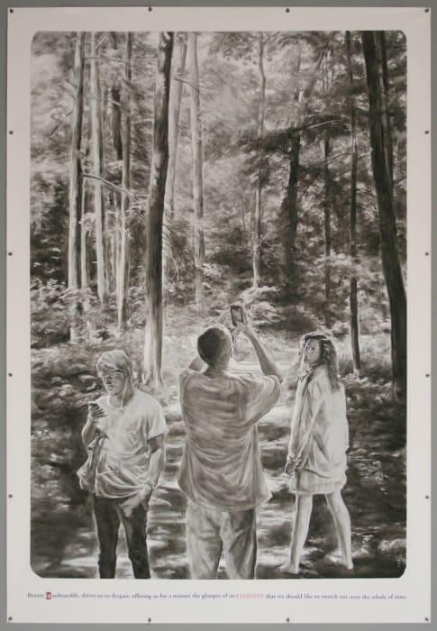 """Untitled (""""Beauty is unbearable…"""") by Muntean & Rosenblum"""