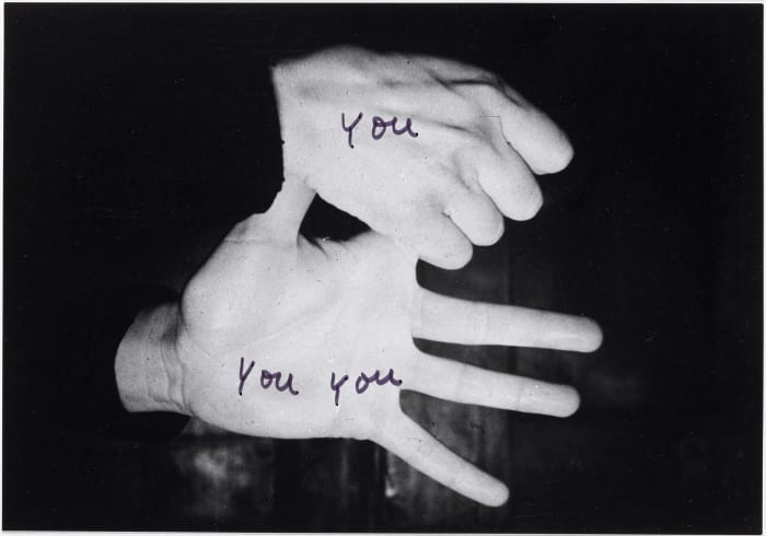 Le mie parole 4 (My Words) by Ketty La Rocca