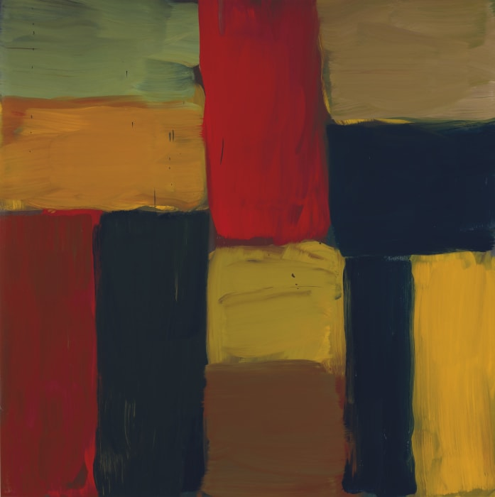 Wall of Light Fez by Sean Scully