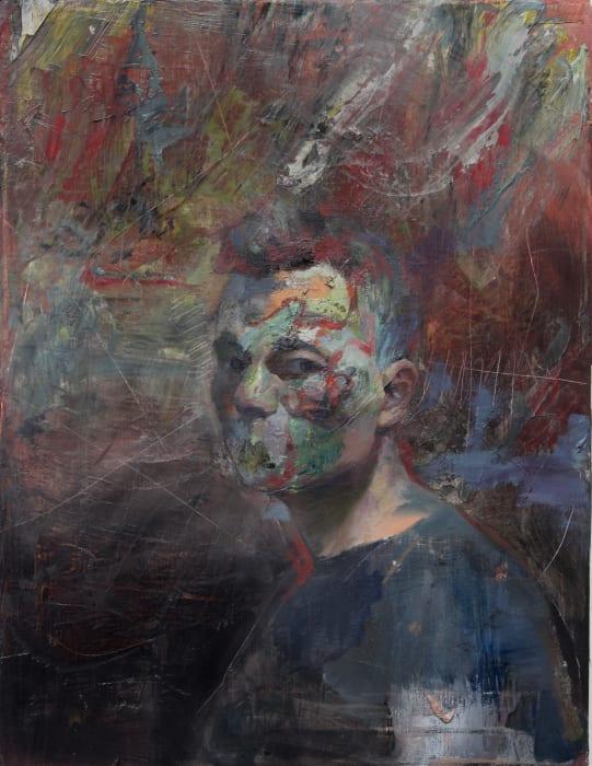 untitled (self portrait) by Daniel Pitin