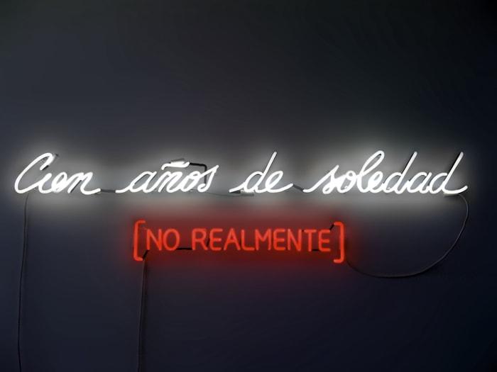 Cien Años De Soledad (No Realmente) by Alfredo Jaar