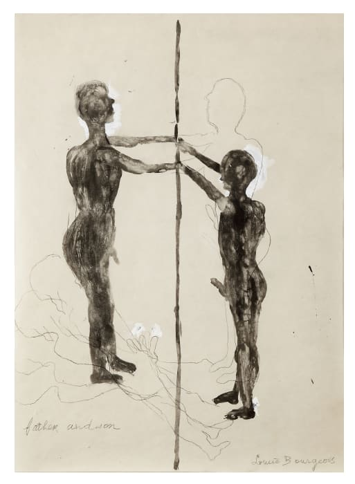 Father and Son (study) by Louise Bourgeois