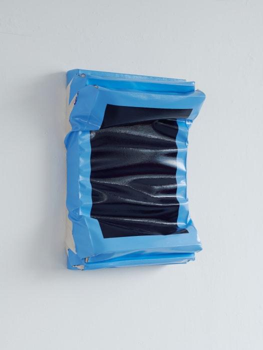 Layers - Small (Ultramarine Blue/Light Blue) by Angela de la Cruz