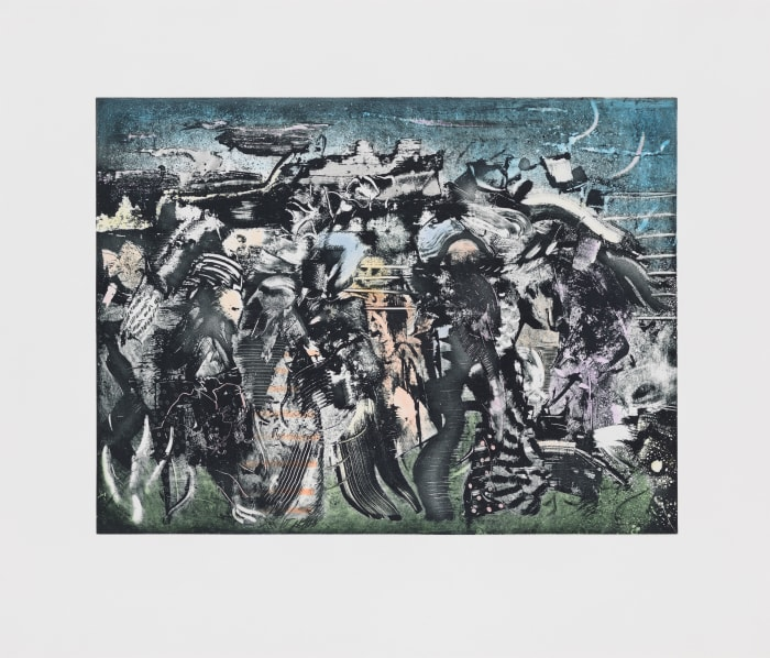 Nocturne by Ali Banisadr