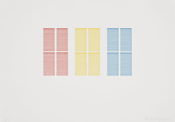 Untitled (Colour Study 1) by Michael Craig-Martin