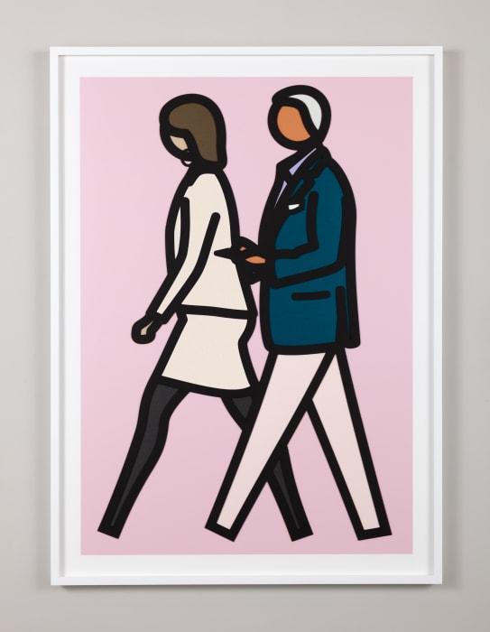 New York Couple 7. by Julian Opie