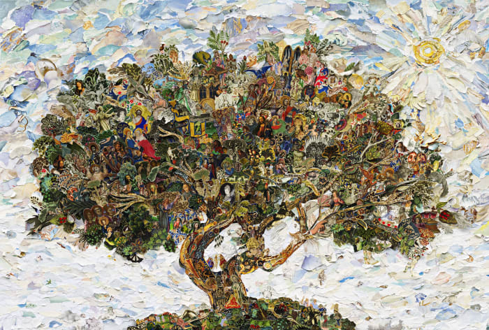 Repro: The Tree of Life by Vik Muniz