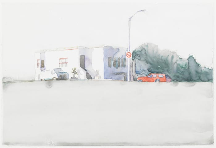 19th and Pennsylvania (3) by Robert Bechtle