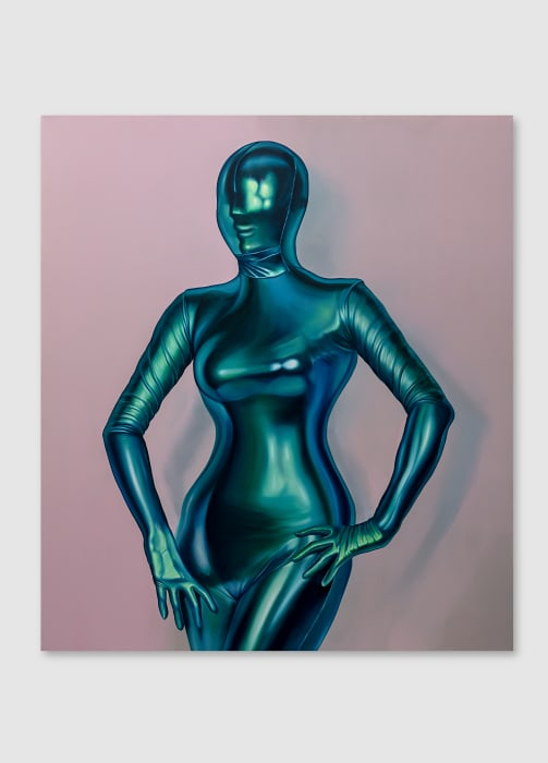 Green Body Suit by Rodolpho Parigi