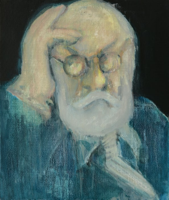 Portrait of Old Codger Mr. M by Wu Chen
