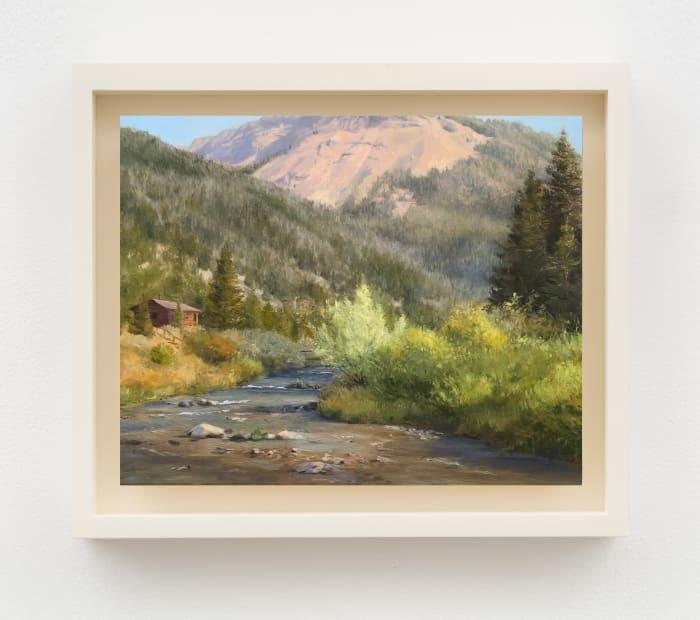 Flat Creek Near Sheep Mountain by Hilary Harkness