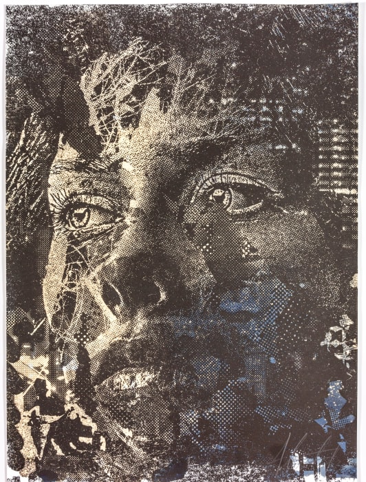 Contrive Series #01 by Alexandre Farto (Vhils)