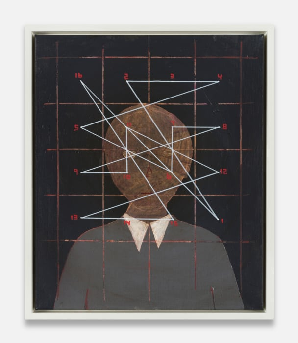 A.O.: Magic Square of 4 (head) #black by Thomas Zipp