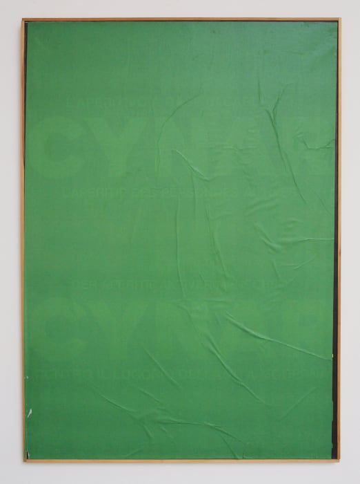 Blank puro  by Mimmo Rotella