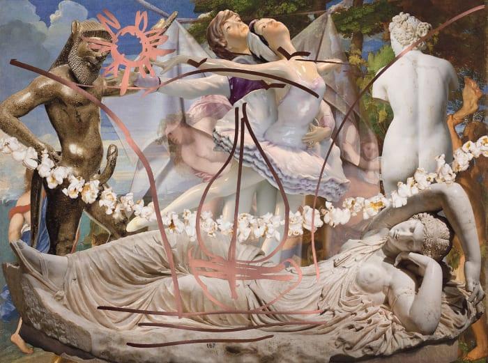 Antiquity (Ariadne Titian Bacchus Popcorn)  by Jeff Koons