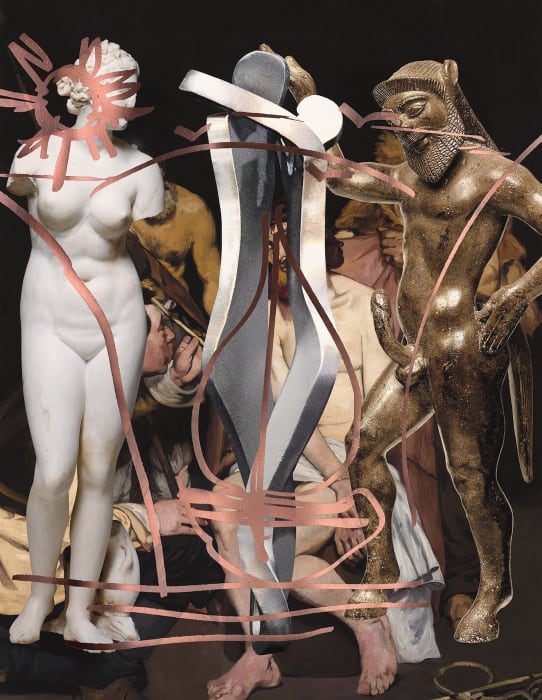 Antiquity (Manet) by Jeff Koons