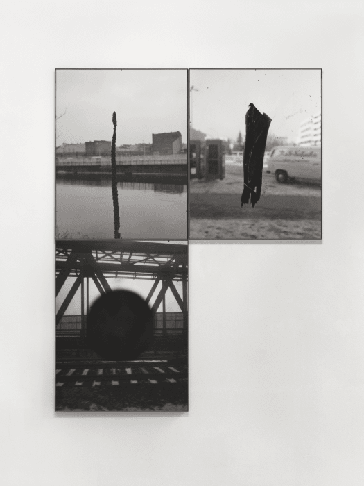 Untitled(from Waffenruhe) by Michael Schmidt