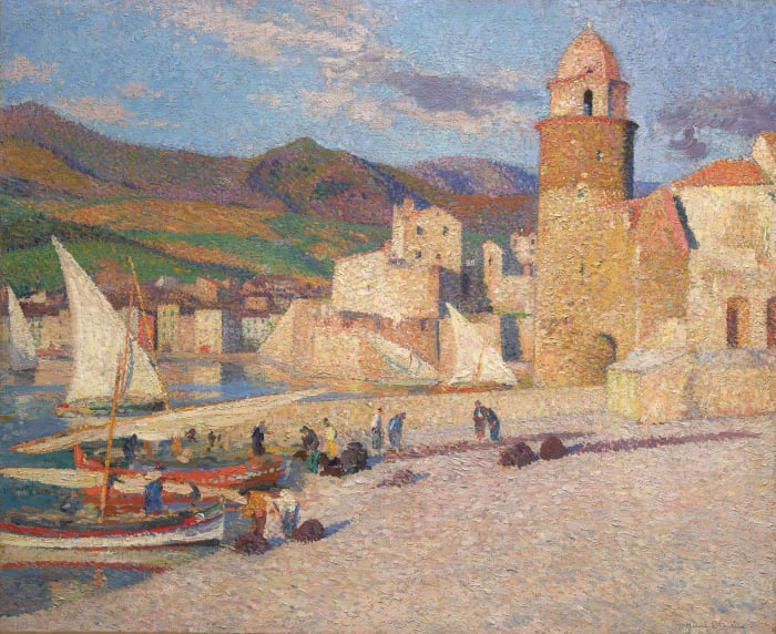 La Tour de Collioure by Henri Martin